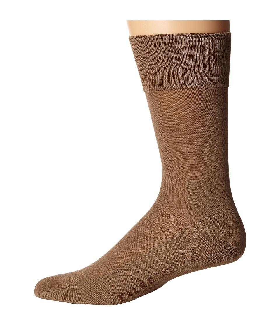 Falke - Tiago Crew Socks (Camel) Men's Low Cut Socks Shoes