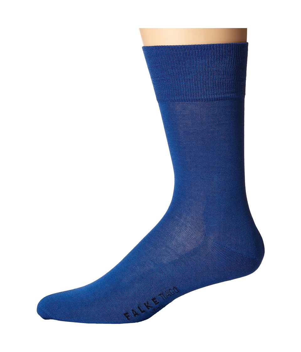 Falke - Tiago Crew Socks (Sapphire) Men's Low Cut Socks Shoes