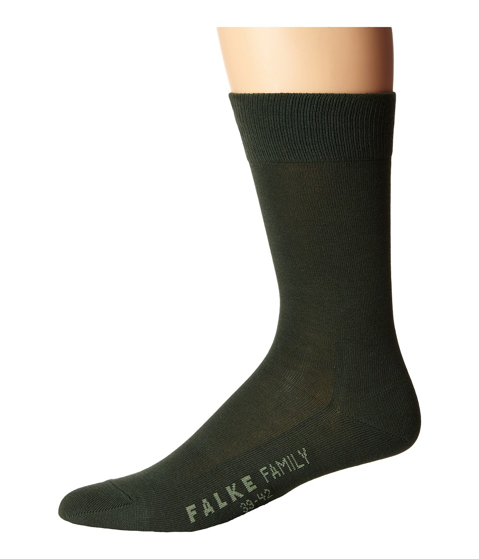 Falke - Family Sock (Malachite) Men's Crew Cut Socks Shoes