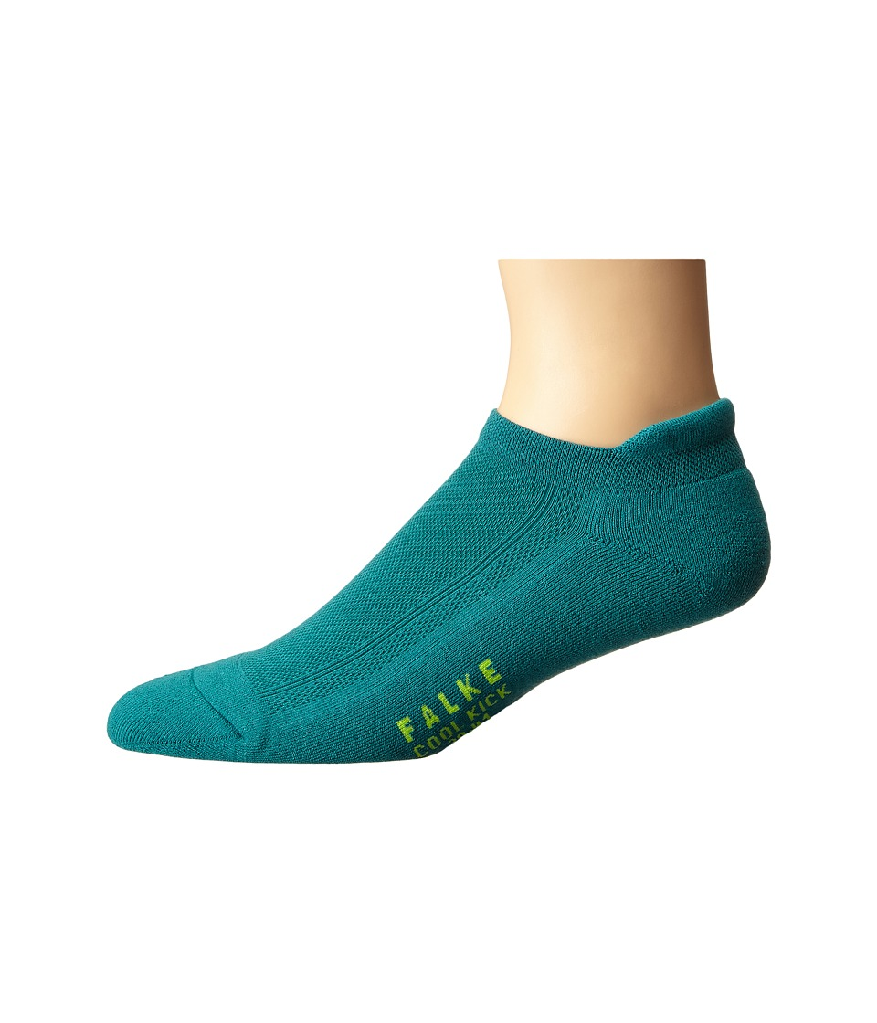 Falke - Cool Kick Sneaker Socks (Amazonite) Men's No Show Socks Shoes