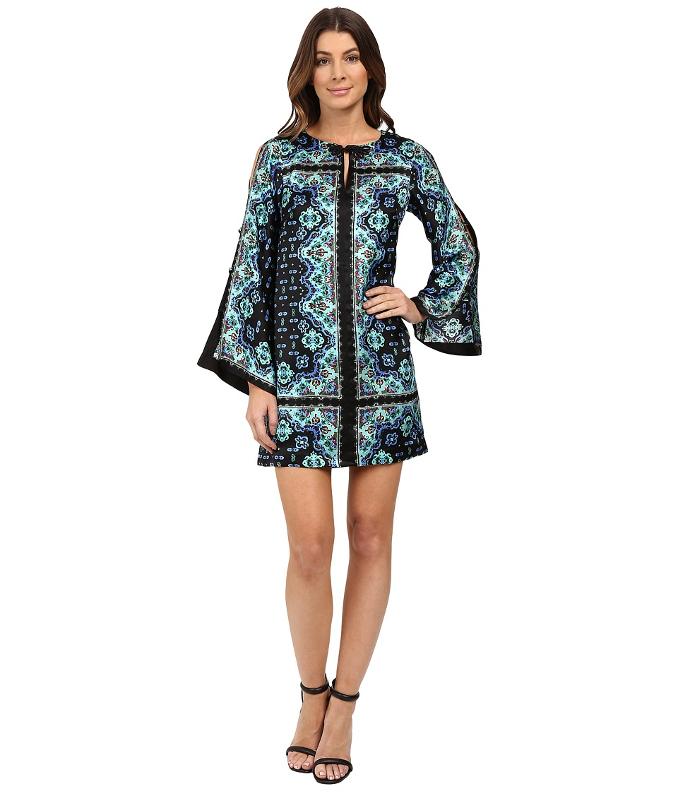 Nanette Lepore - Shanghai Shift (Black Multi) Women's Dress