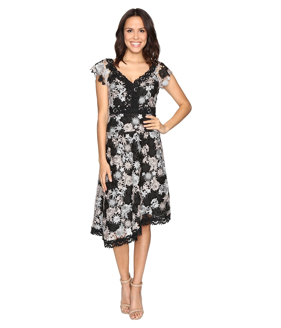 Nanette Lepore Height Roller Dress (Black/Silver) Women