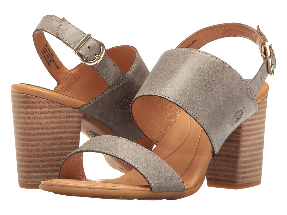 Born Holguin (Grey Full Grain) Women