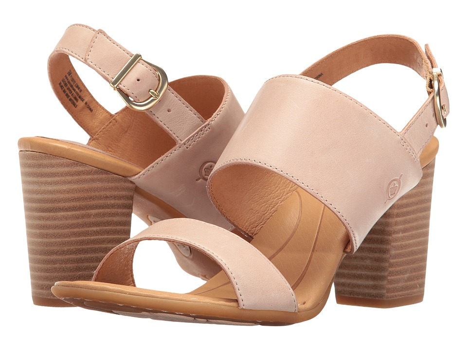 Born - Holguin (Pink Full Grain) Women's Clog/Mule Shoes