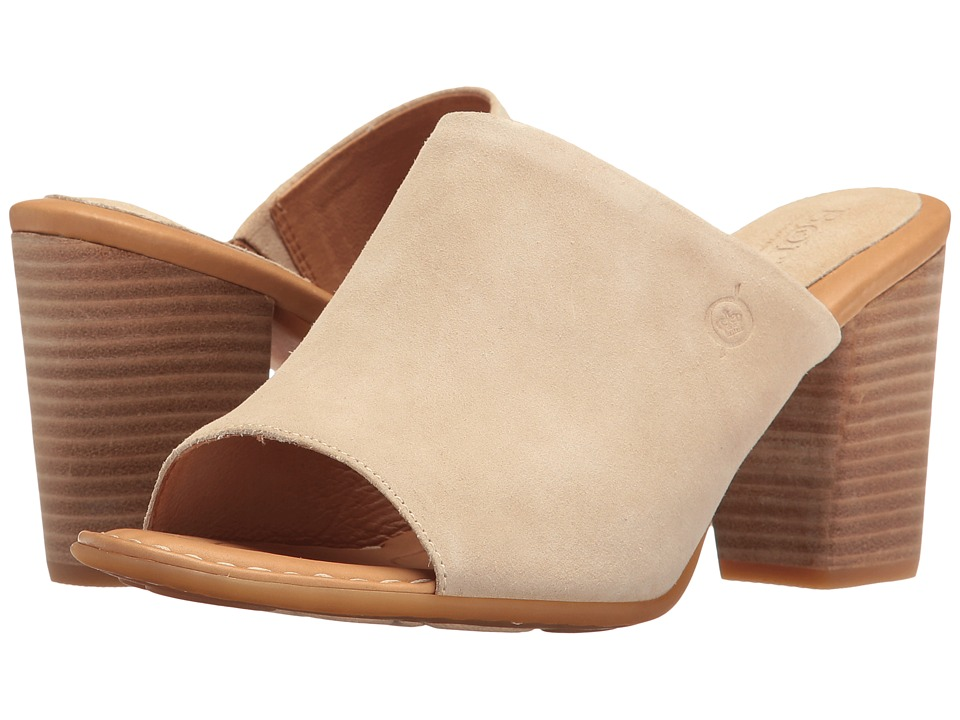 Born - Bima (Cream Distressed) Women's Clog/Mule Shoes