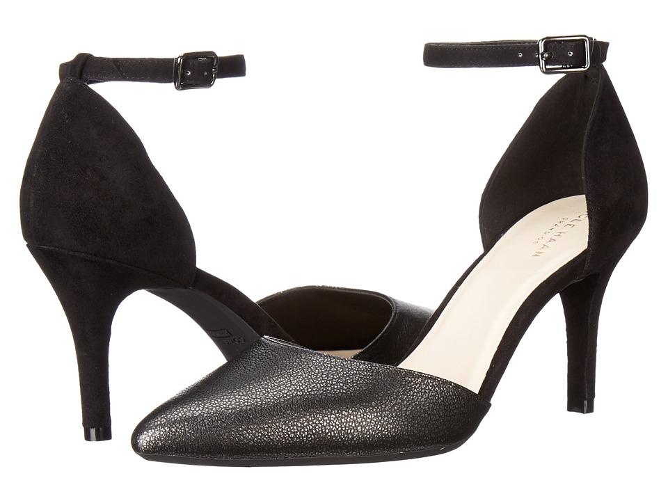 Cole Haan - Saybrook Pump II (Black/Black Suede) Women's Shoes