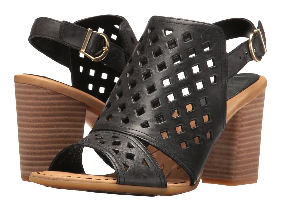 Born - Havana (Black Full Grain) Women's Clog/Mule Shoes