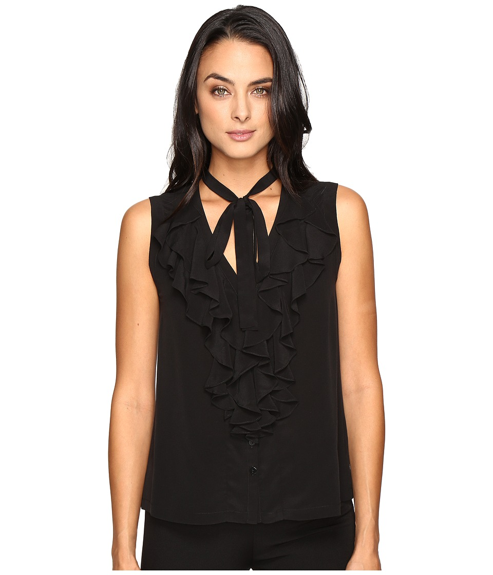 Nanette Lepore - Domino Top (Black) Women's Clothing
