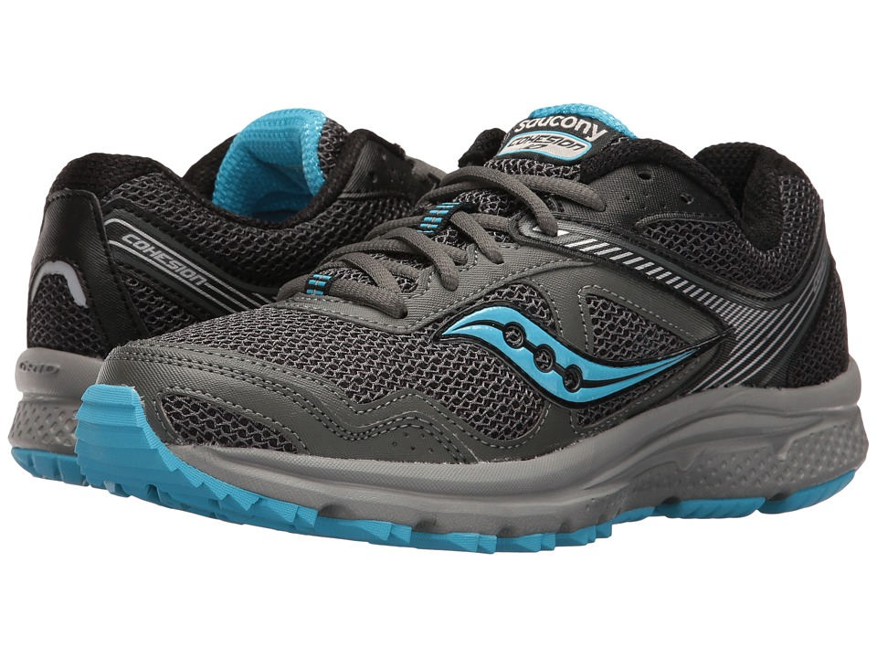 Saucony - Cohesion TR10 (Grey/Black) Women's Shoes