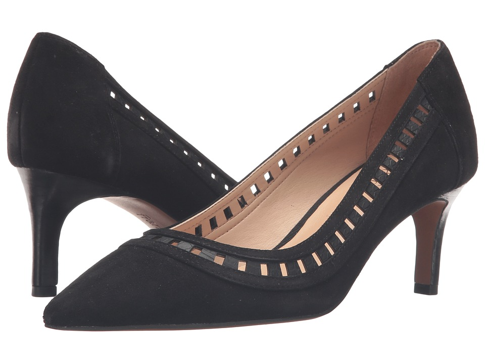 Franco Sarto - Diane (Black Suede) Women's Shoes
