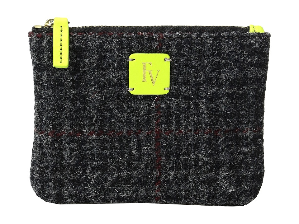 Frances Valentine - Top Zip Coin Purse (Multi Grey/Green) Coin Purse