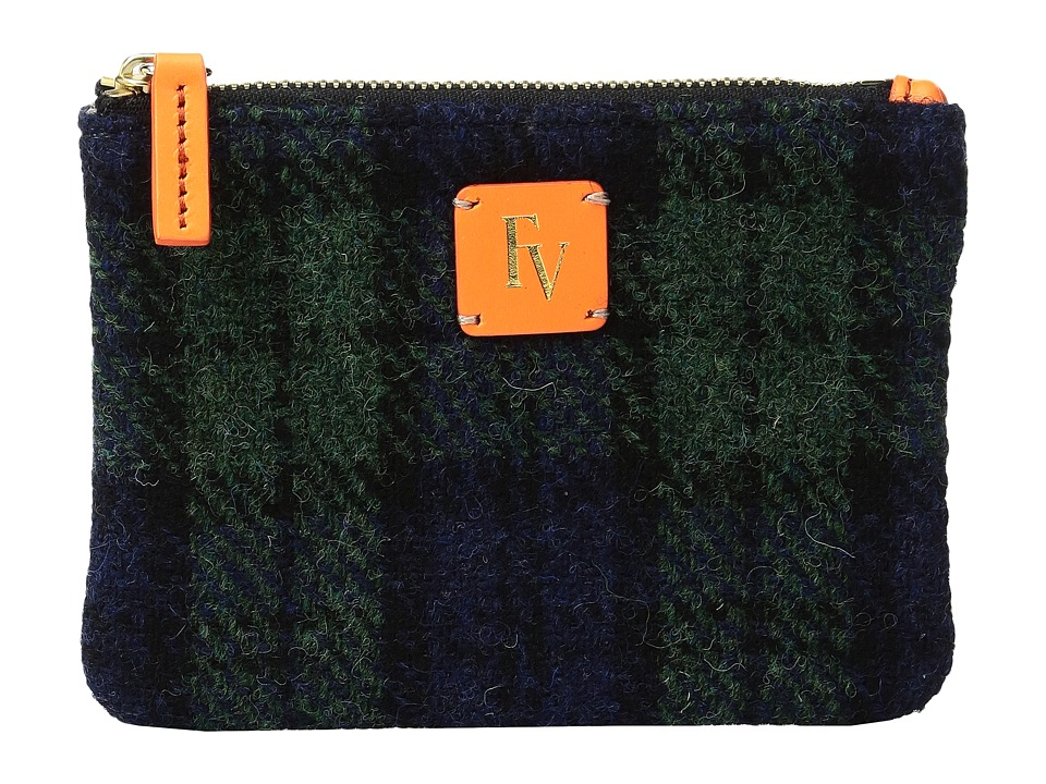 Frances Valentine - Top Zip Coin Purse (Multi Orange/Blue) Coin Purse