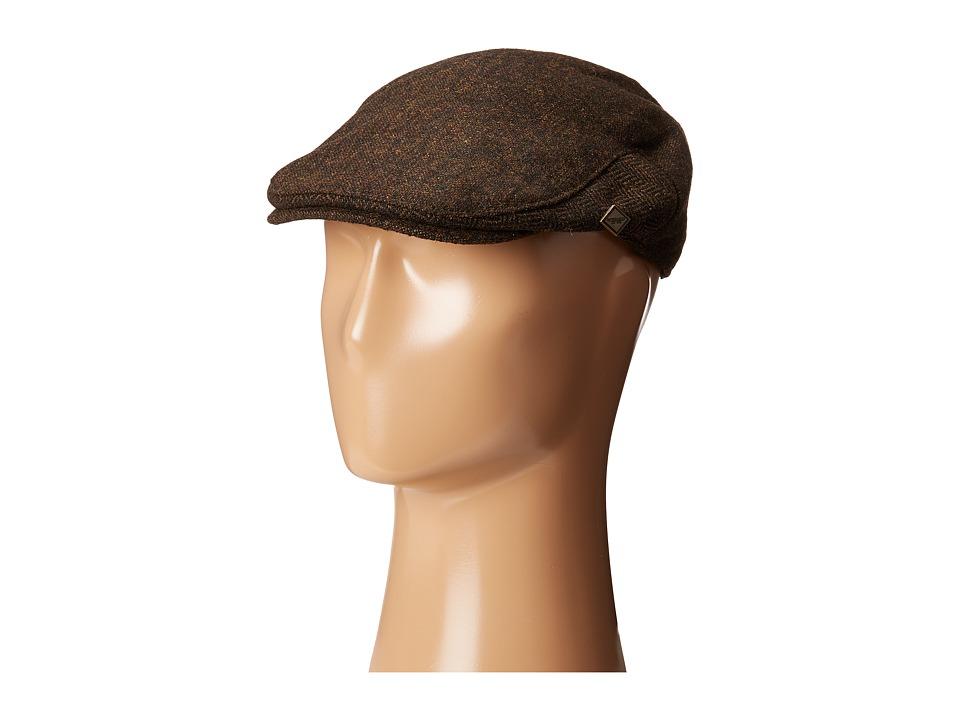 San Diego Hat Company - SDH3002 Herringbone Driver (Brown) Caps