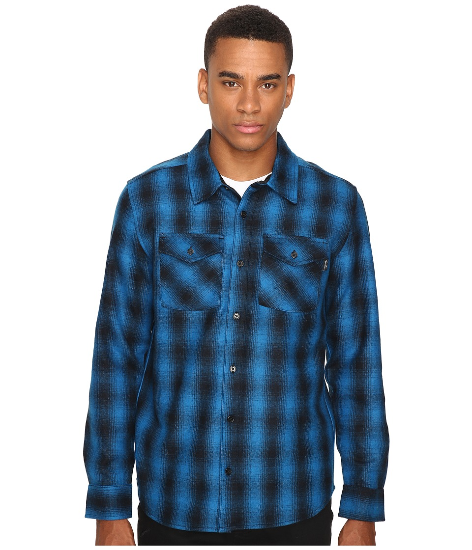 Primitive Detroit Shadow Shirt-Jacket (Royal) Men