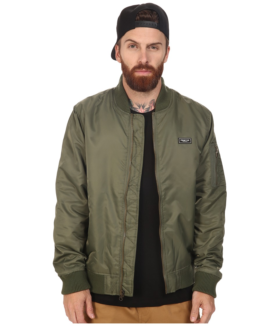 Primitive - Canopy Bomber (Olive) Men's Coat