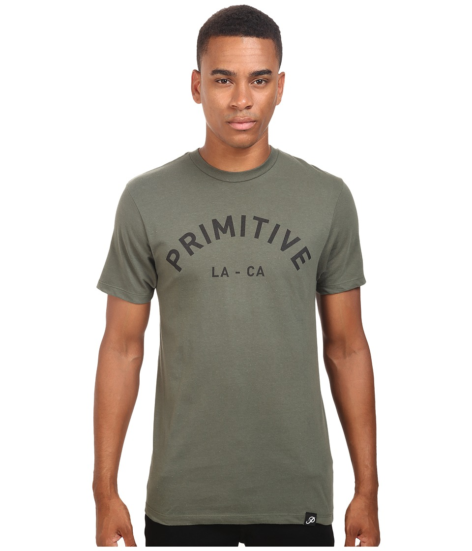 Primitive - Surplus Lightweight Tee (Olive) Men's T Shirt