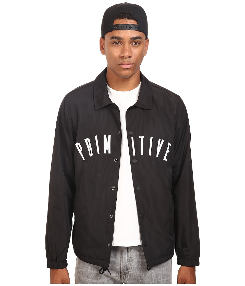 Primitive - Condensed Coach Jacket (Black) Men's Coat