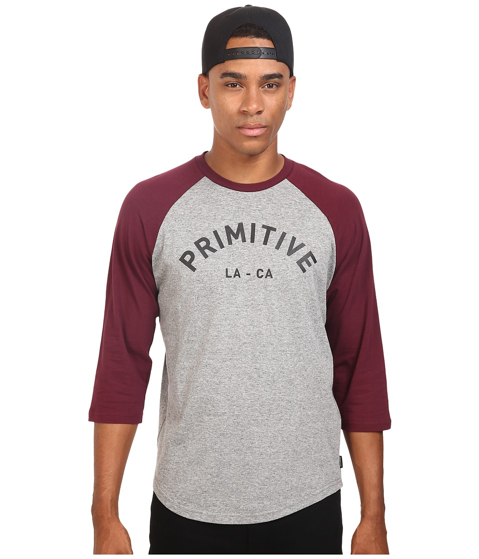 Primitive - Surplus Raglan (Burgundy) Men's Clothing
