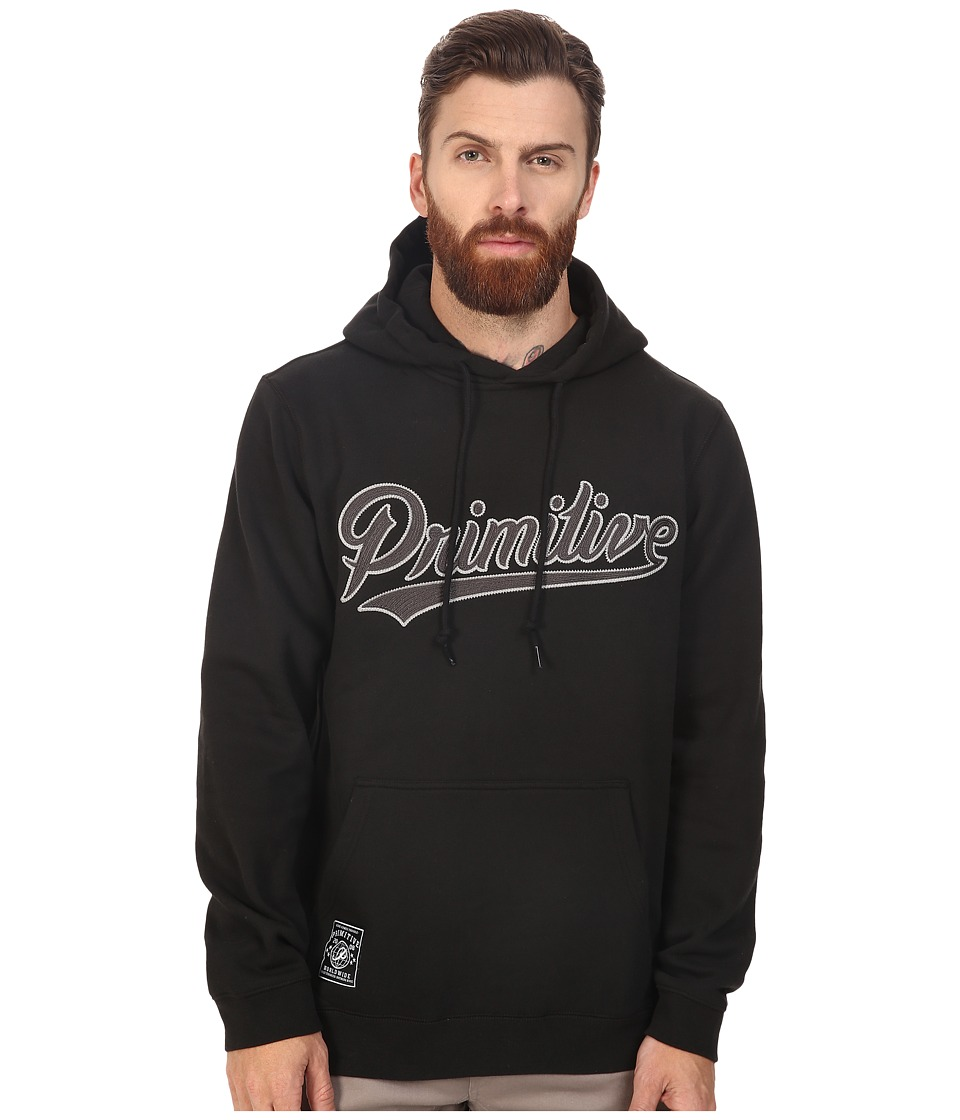 Primitive - Built Stronger Pullover (Black) Men's Clothing