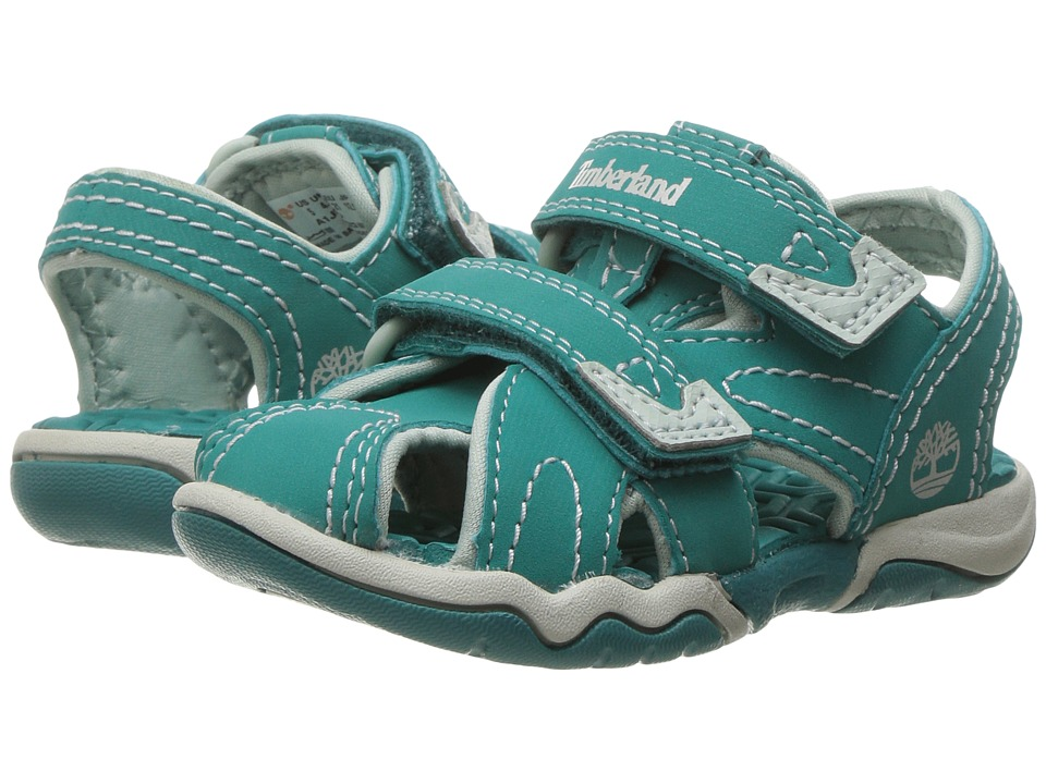 Timberland Kids - Adventure Seeker Closed Toe Sandal (Toddler/Little Kid) (Teal Blue) Kids Shoes