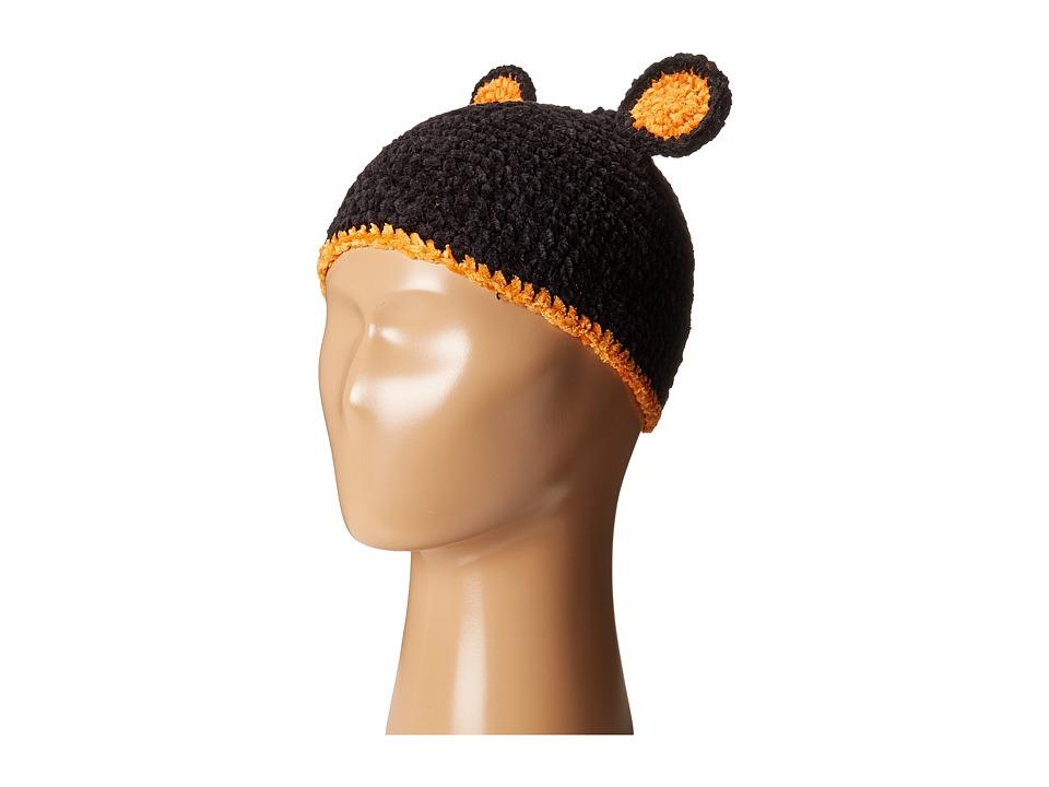 San Diego Hat Company Kids - Cotton Crochet Bear Beanie (Infant) (Bear) Beanies