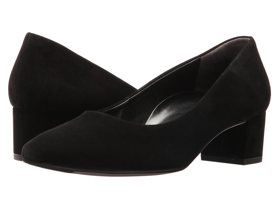 Paul Green - Lynne (Black Suede) Women's Flat Shoes