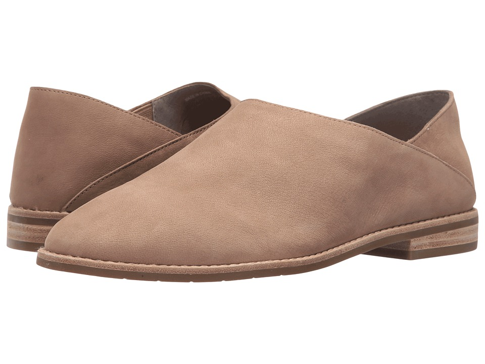 Eileen Fisher - Depan (Earth Tumbled Nubuck) Women's Slip on Shoes