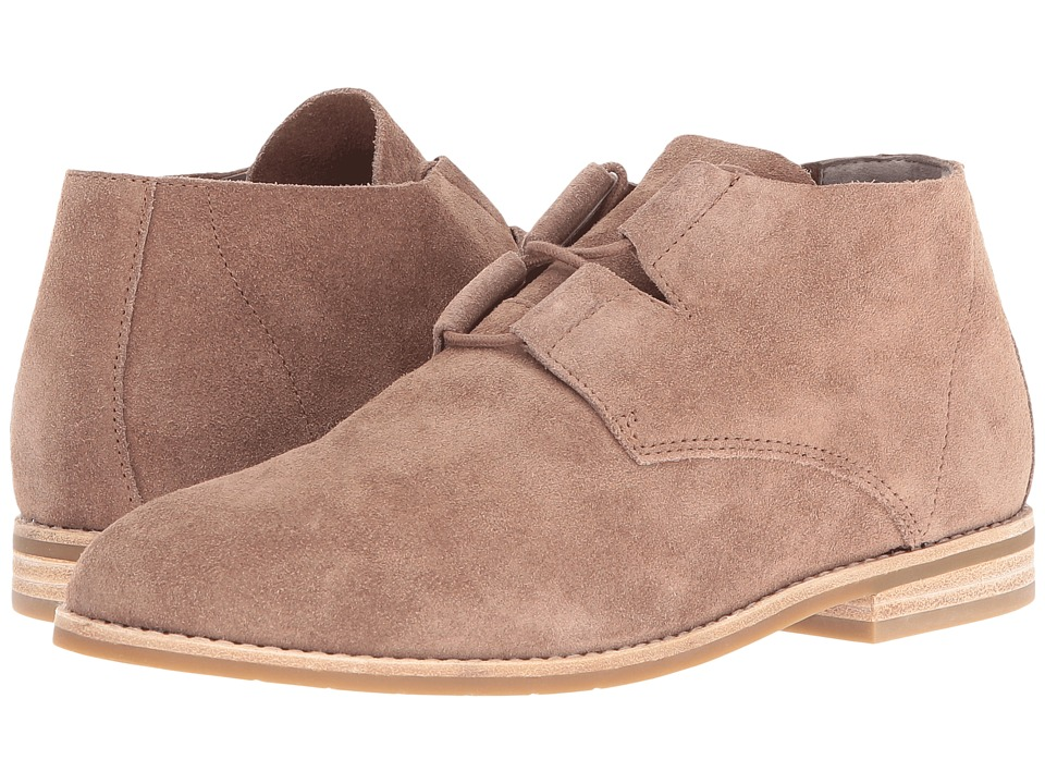 Eileen Fisher Baret (Mushroom Sport Suede) Women's Lace up casual Shoes