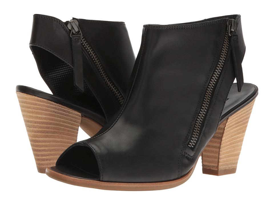 Paul Green - Lady Sandal (Black Leather) High Heels
