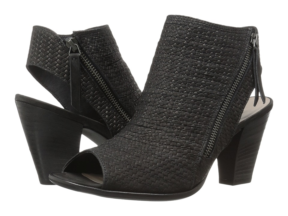 Paul Green - Alexandra (Black Braid Leather) High Heels