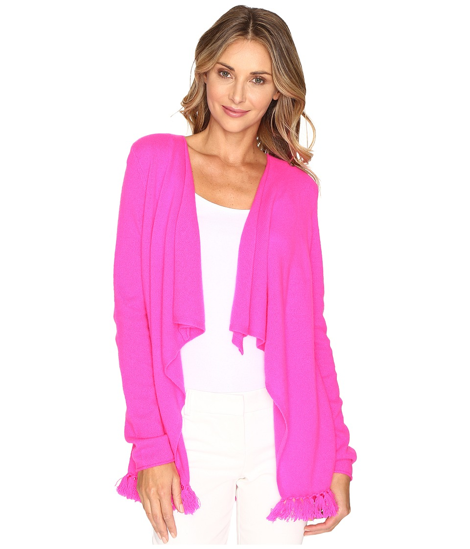 Lilly Pulitzer - Alina Cashmere Cardigan (Magenta) Women's Sweater