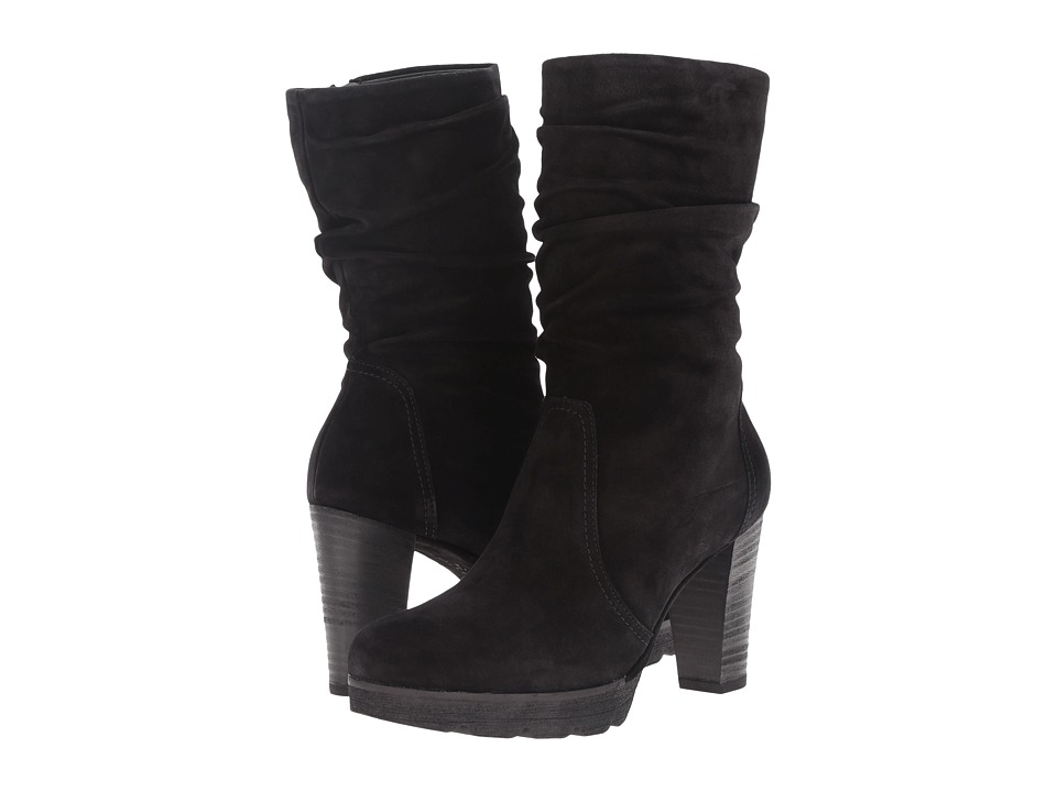 Paul Green Kyle (Black Suede) Women