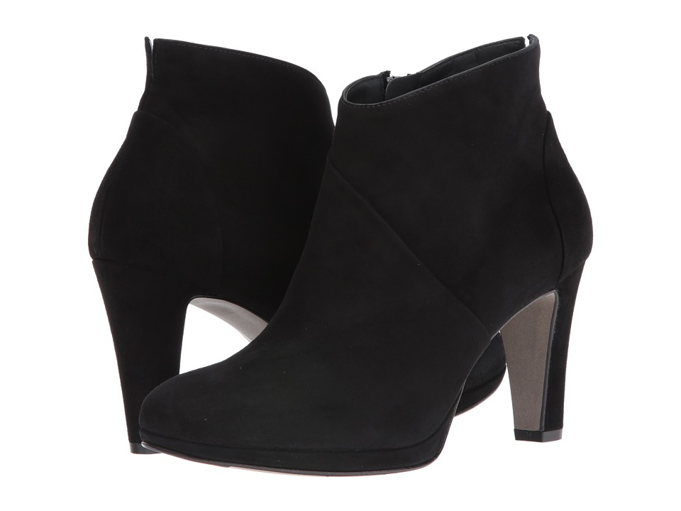 Paul Green - Kassy (Black Suede) Women's Boots