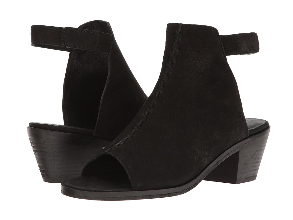 Eileen Fisher Pagoda (Black Tumbled Nubuck) Women