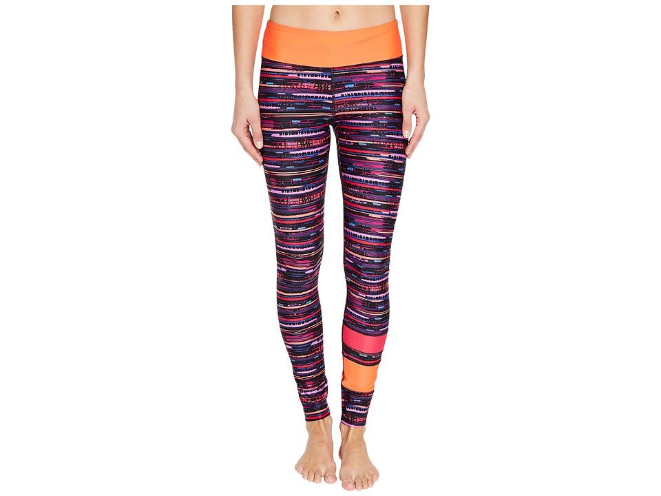 Lole - Cayo Leggings (Fiery Coral Fresh) Women's Casual Pants