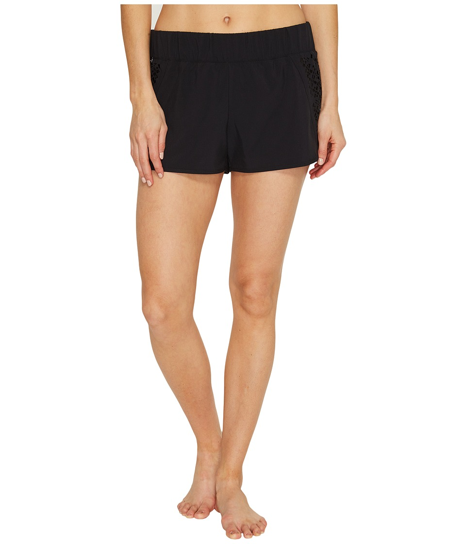 Lole - Hanailei Boardshorts (Black) Women's Swimwear