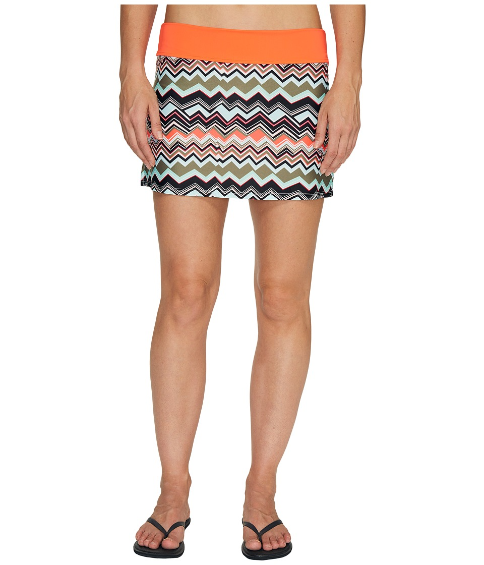 Lole Barcela Skirt (Lichen Chevron Stripe) Women