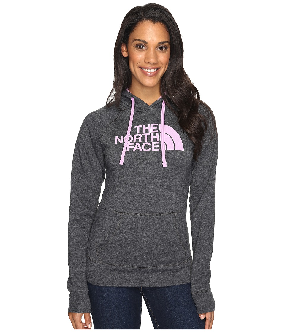 The North Face - Half Dome Hoodie (TNF Dark Grey Heather/Violet Tulle (Prior Season)) Women's Sweatshirt