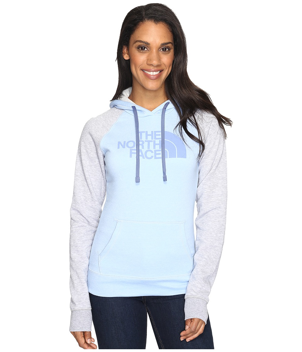 The North Face - Half Dome Hoodie (Chambray Blue Heather/Coastal Fjord Blue (Prior Season)) Women's Sweatshirt