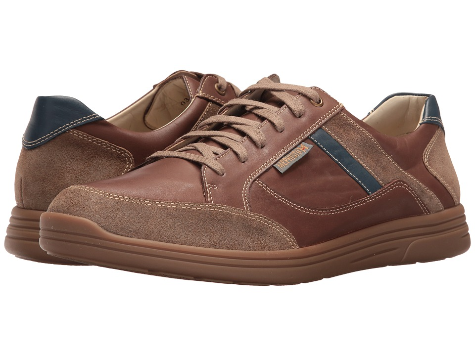 Mephisto - Frank (Chesnut/Denim Polo) Men's Lace up casual Shoes
