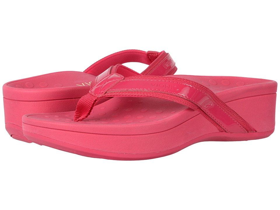 VIONIC - High Tide (Pink Action Leather) Women's Sandals