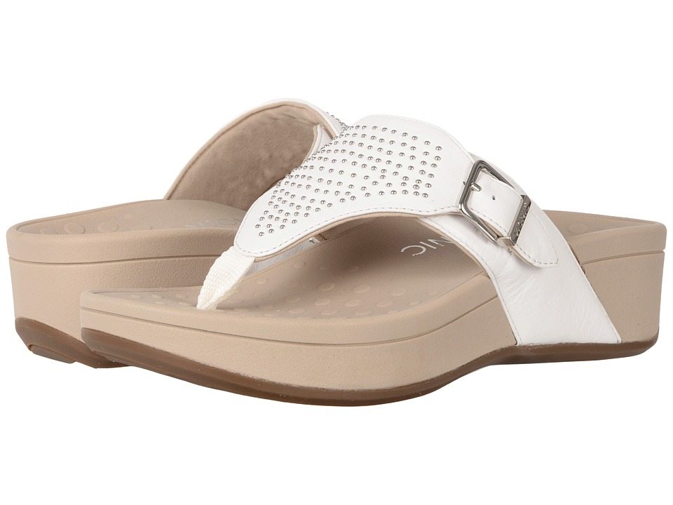 VIONIC - Capitola (White Sheep Nappa) Women's Sandals