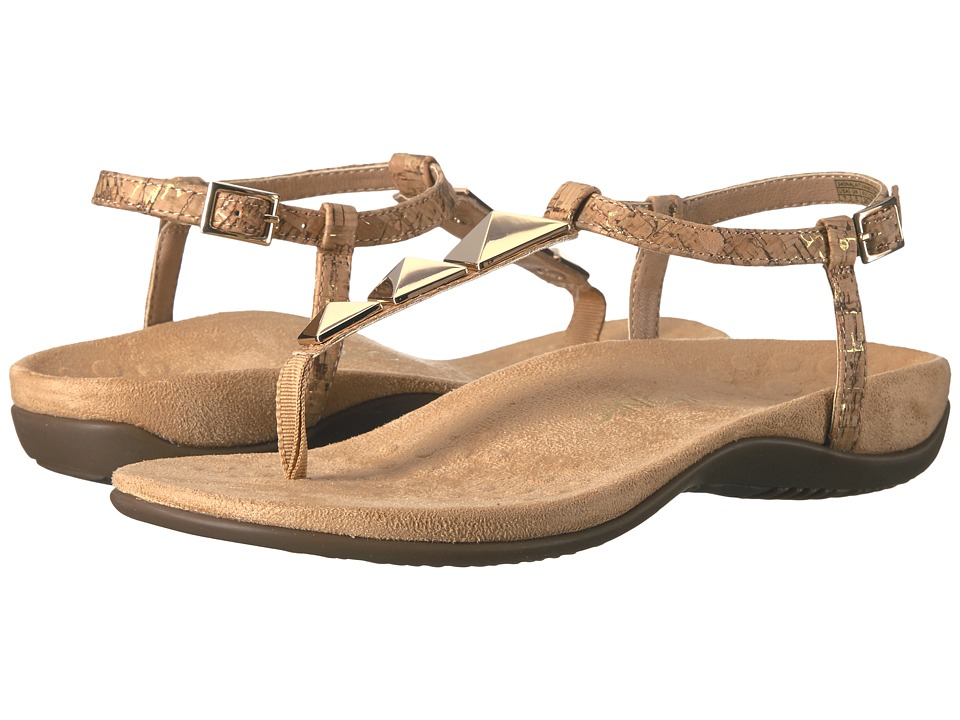 VIONIC - Nala (Gold Cork) Women's Dress Sandals
