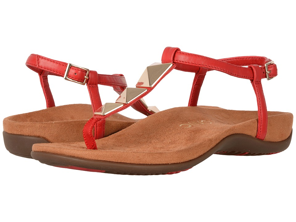 VIONIC - Nala (High Risk Red/Caramel) Women's Dress Sandals