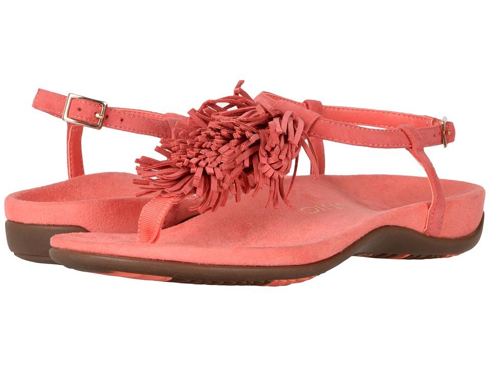 VIONIC - Sosha (Deep Sea Coral) Women's Dress Sandals