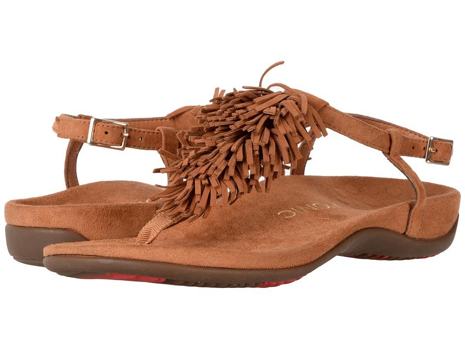 VIONIC - Sosha (Caramel) Women's Dress Sandals