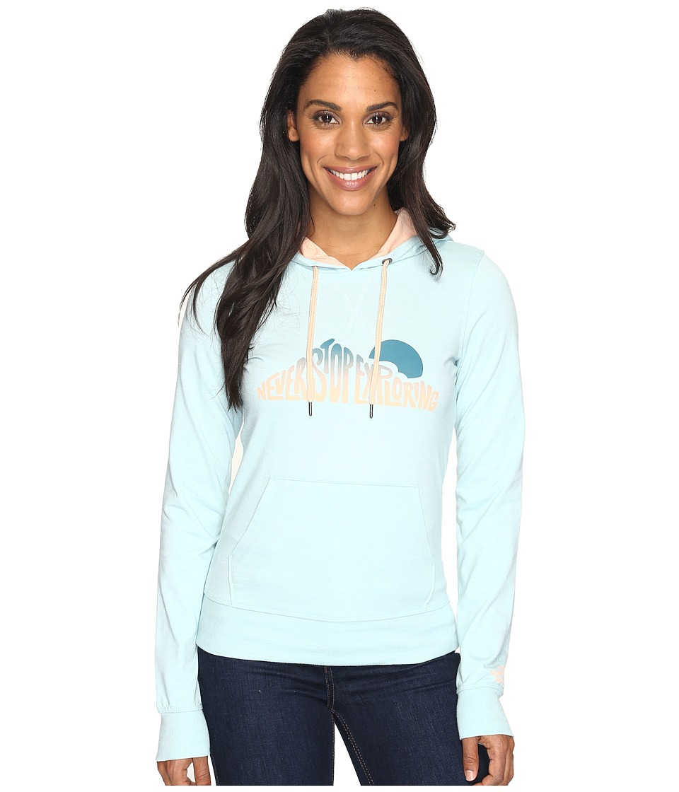 The North Face - NSE Sunrise Lightweight Pullover Hoodie (Windmill Blue Heather (Prior Season)) Women's Sweatshirt