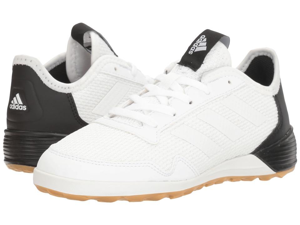 adidas Kids Ace Tango 17.2 IN Soccer (Little Kid/Big Kid) (Footwear White/Core Black) Kids Shoes