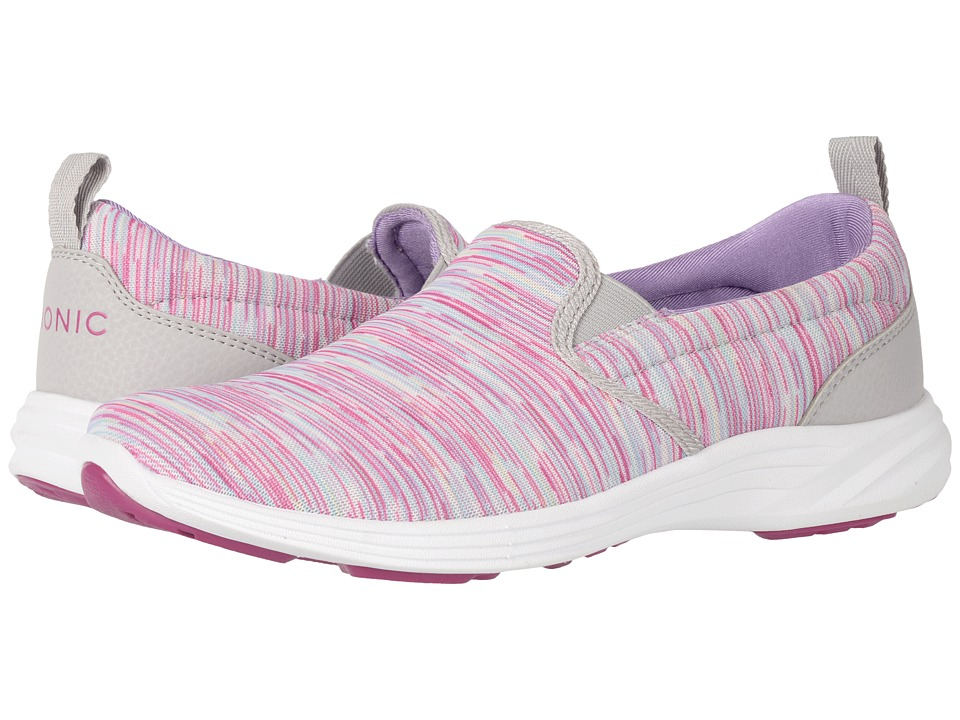 VIONIC - Agile Kea Slip-On (Berry Multi) Women's Slip on Shoes