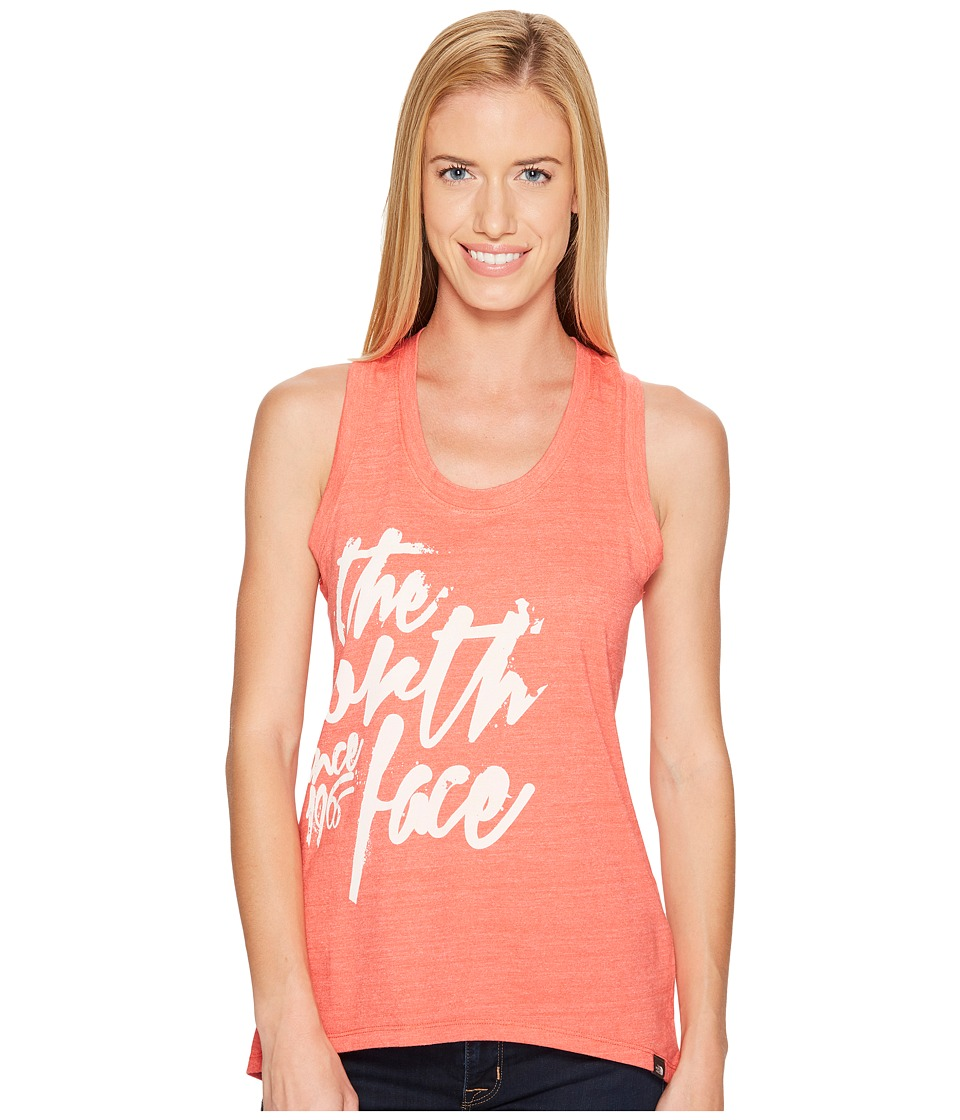 The North Face - Artemisia Tri-Blend Tank Top (Cayenne Red Heather (Prior Season)) Women's Sleeveless